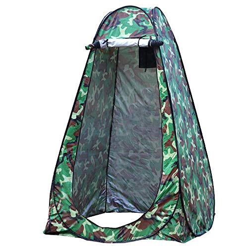 "New Pop Up Privacy Shelters Tent Instant Portable Outdoor Shower Tent,Camp Toilet,Changing Room,Rain Shelter for Camping Beach,Outdoor Foldable Changing Room Privacy Shelter (ArmyGreen,474774.8"")"