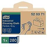 Tork 520371 Panni piegati per la pulizia industriale Premium, compatibili con sistema W7, ...