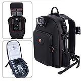 Smatree Hard Shell Backpack Compatible with DJI Mavic 2 Pro/Zoom Drone/DJI Osmo Pocket 2/DJI Osmo Pocket, Waterproof Case, Extension Rod