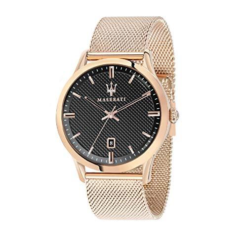 Orologio da uomo, Collezione RICORDO, in acciaio, PVD oro rosa - R8853125003