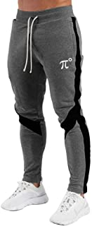 Men's Track Pants,Slim Fit Athletic Sweatpants Joggers with Zipper Pockets