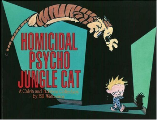 (Homicidal Psycho Jungle Cat Ppb) By Watterson, Bill (Author) Paperback on 01-Sep-1994