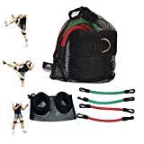 Wellsem Speed Agility and Strength Leg Resistance Jump trainer ( Taekwondo Fitness Exercise Tool Equipment )
