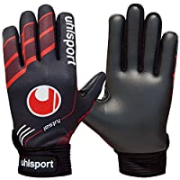 uhlsport(ウールシュポルト) キーパーグローブ FUTSAL フルフィンガーソフト 1000855 ブラック×レッド 9