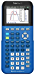 Texas Instruments 84PLCE/TBL/1L1/X TI-84 Plus CE Graphing Calculator, Bionic Blue (Renewed)