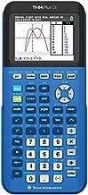 Texas Instruments 84PLCE/TBL/1L1/X TI-84 Plus CE Graphing Calculator, Bionic Blue (Renewed)