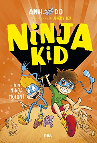 Ninja Kid #4. !Un ninja molón!