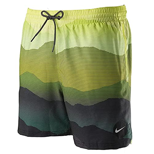Nike Volley - Costume da Bagno da Uomo, Uomo, Costume da Bagno, NESSB529-364, Verde (Stadium Green), M