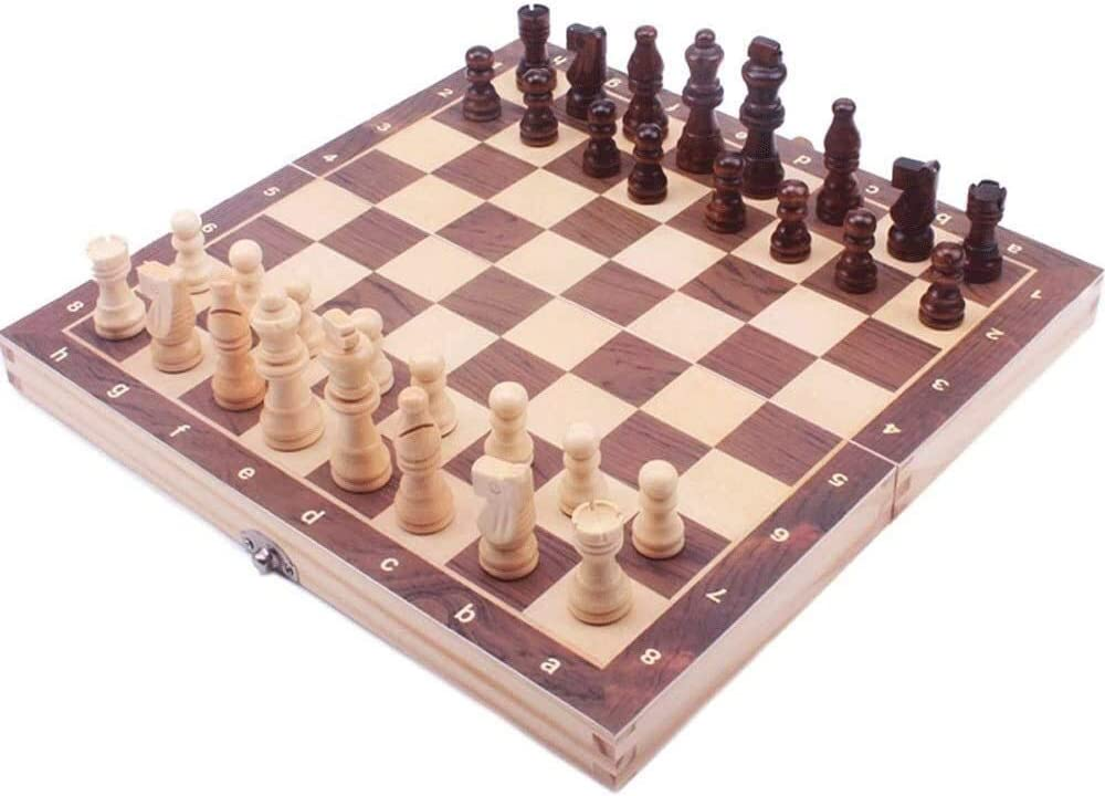 Parent-Child Interactive Game Chess Inlaid SEAL limited product Folding Ga Selling rankings Wood Board