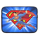 Super Hero Superman Laptop Sleeve·13/15-Inch Stylish Soft Neoprene Sleeve Case Cover Bag Tablet Briefcase Ultraportable Protective Canvas for MacBook Pro/MacBook Air/Notebook Computer.13 Inch