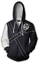 Mikucos Anime Game Plus Size Sweater Hooded Hoodie Cosplay Costume Jacket