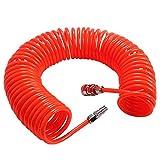 Tubo espiral compresor - WENTS 6M Rojo para compresor de aire Accesorios de bomba de aire poliuretano semiprofesional