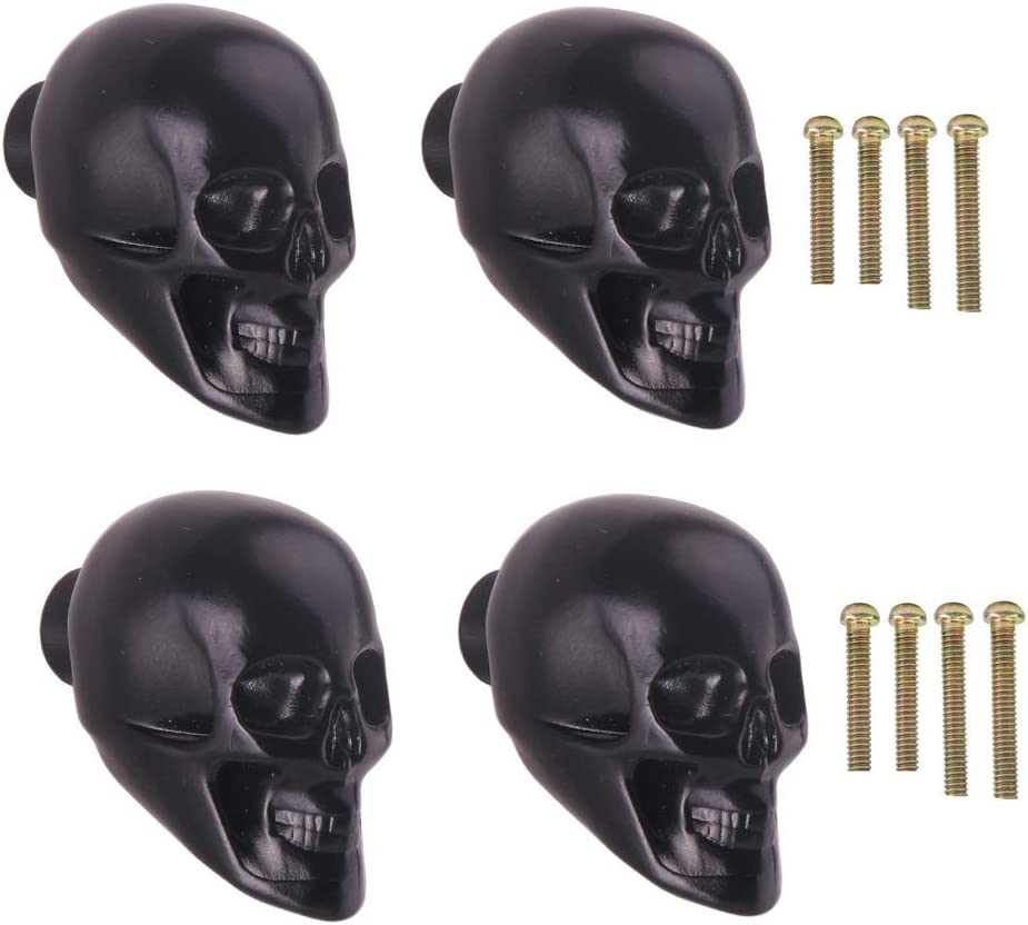 Skull  Retro Bronze Dresser Knobs  Cabinet Knobs  Furniture Knobs  5 Colors to Choose  Customized