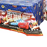 """1 Pack Cars Themed Birthday Party Decorations – Disposable Cars Plastic Tablecloth   71.25 x51.96 """", Disposable Table Cover   Cars Party Supplies for Kids"""
