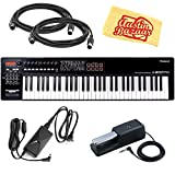 Roland A-800PRO MIDI Keyboard Controller Bundle with Roland DP-10...