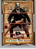 2020 Topps WWE Road to WrestleMania Roster #WM-14 The Fiend Bray Wyatt Wrestling Trading Card
