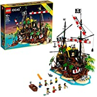 LEGO 2545-Pieces Ideas Pirates of Barracuda Bay Building Kit