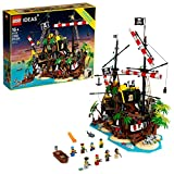 LEGO Ideas Pirates of Barracuda Bay 21322 Building Kit, Cool Pirate Shipwreck Model with Pirate Action Figures for Play and Display, New 2020 (2,545 Pieces)
