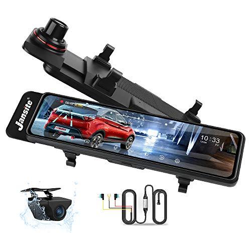 10.88'' 2.5K Dash Cam Specchietto, Specchietto Retrovisore per Auto con Telecamera di Backup Impermeabile, Visione Notturna con sensore Sony Starvis, Registrazione in Loop, Monitoraggio del Parcheggio