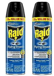 powerful Flying Insect Killer Lawn  Garden Raid, 20 oz (Set-2)