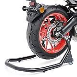Motorrad Montageständer Hinten für Kawasaki ZZR 1400/600 Constands V5 Vario L Höhenverstellbar schwarz