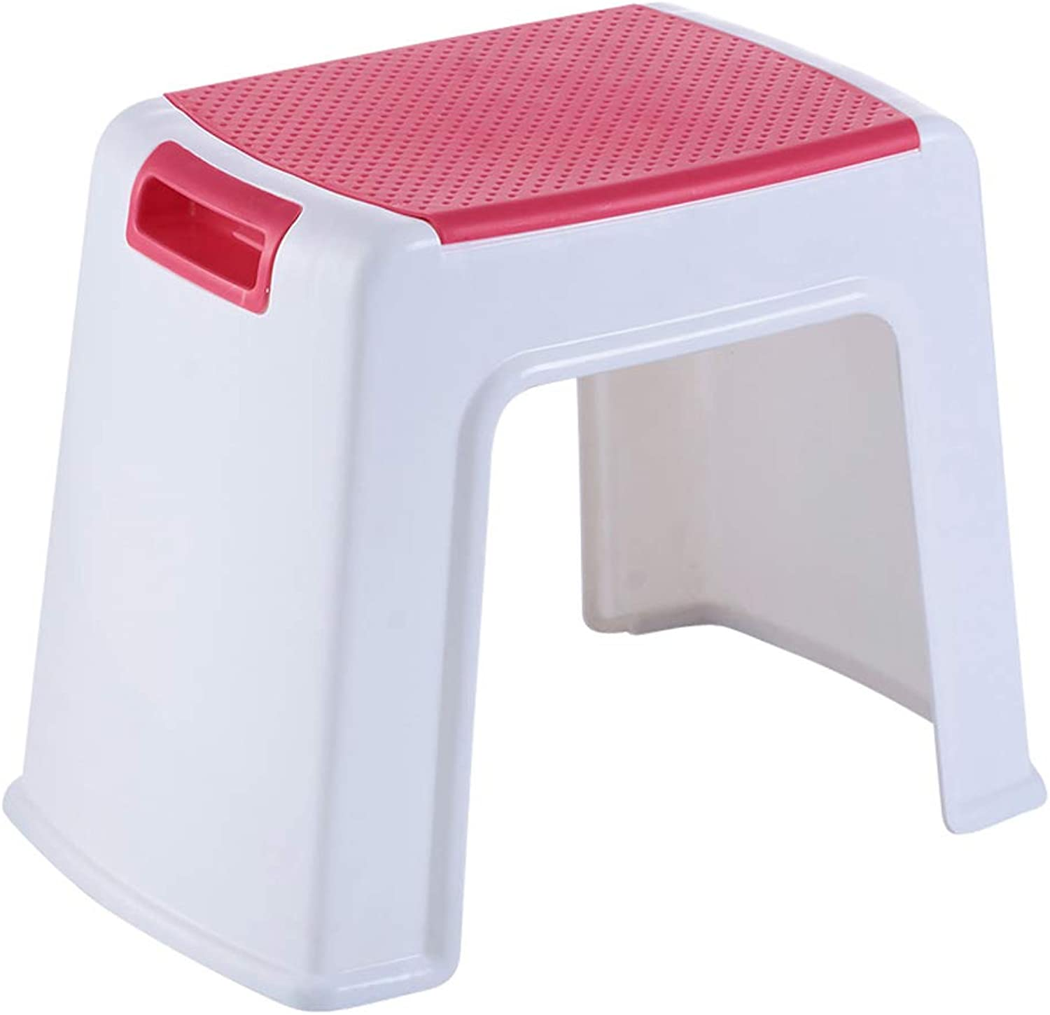 Small Plastic Step Stool On Light Thicken Reinforce Non-Slip 0.75KG 1.65LBS