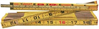 Crescent Lufkin 5/8 in. x 8 ft. Red End Wood Rule with 6 in. Slide Rule Extension - X48N