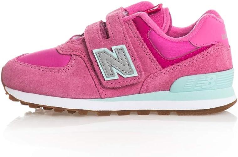 New Balance YV574PAF Sneaker Bambina Rosa : Amazon.it: Moda