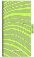 楽天モバイル オッポ A73 スマホケース 手帳型 カバー YB988 ウェービー01 横開き 品