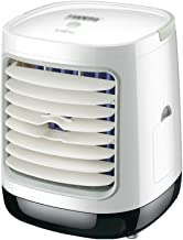 SHYPYG Air Cooler Fan with Color Light Portable Air Conditioner Humidifier Space Cooler Purifies Home Air Cooling Fan