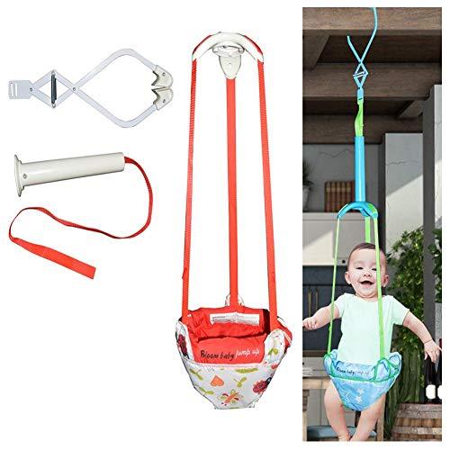 TOMATION Baby Türspringer und Türsteher, Türpullover für Babys, langlebiges tragbares Schaukelpullover-Trainingsset mit verstellbarem Riemen für Kleinkinder 6-24 Monate
