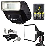 Best Canon Flashes - Canon Speedlite 270EX-II Flash Bundle Review