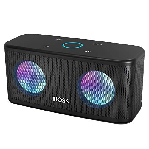 Lowest Price! Bluetooth Speakers, DOSS SoundBox Plus Portable Wireless Bluetooth Speaker with HD Sou...