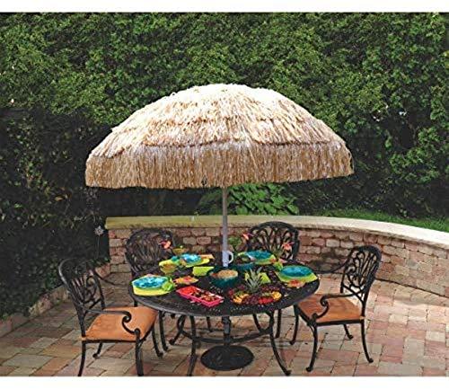 "Amscan Tiki Party Umbrella, 71"" x 61"""
