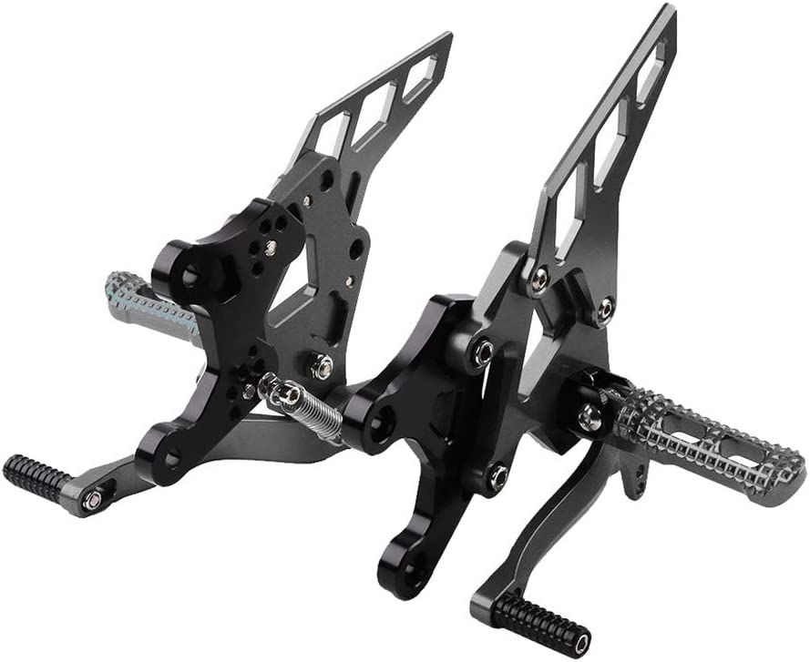Gazechimp Adjustable Footrests Bracket オリジナル Mount for Kawasaki Z9 限定モデル Kit