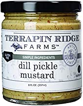 product image for Dill Pickle Mustard by Terrapin Ridge Farms – One 8 oz Jar