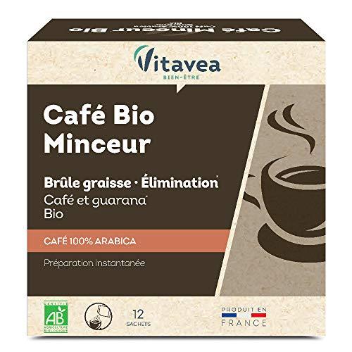 Vitavea Café Minceur Bio - 12 sachets de 2 g (24g)