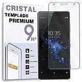 REY Protector de Pantalla para Sony Xperia XZ2 Compact, Cristal Vidrio Templado Premium