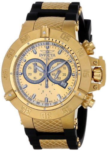 Invicta Subaqua Collection 5517 Reloj cronógrafo Dorado para Hombre