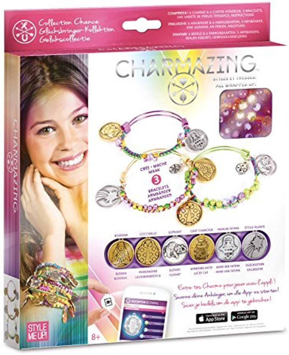 Charmazing All Wrapped Up Bracelets  Lucky Collection by Charmazing