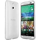 moodie Silikonhülle für HTC One E8 Hülle in Transparent - Case Schutzhülle Tasche für HTC One E8 (2014 Version)