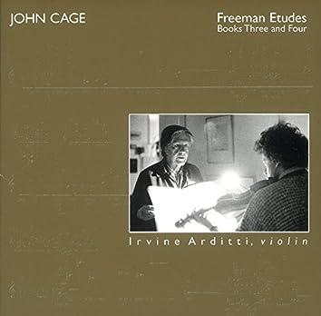 Cage: Freeman Études, Books 3 & 4