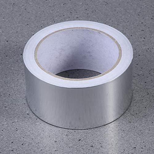 Cinta adhesiva de papel de aluminio Cinta de sellado de aluminio resistente al calor Cinta aislante Rollo de metal de alta calidad de alta resistencia Resistencia t/érmica Reparaciones de conductos