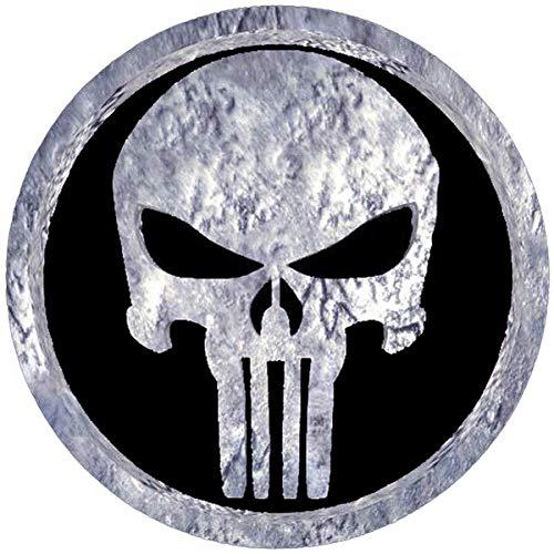 Reflektierende Aufkleber für Motorradhelm The Punisher