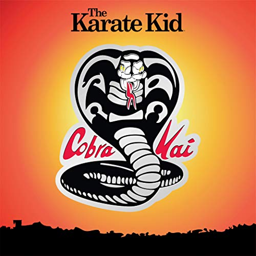 Icon Heroes Karate Kid Cobra Kai Logo Silver LE Pin