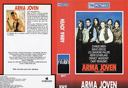ARMA JOVEN - Película en VHS