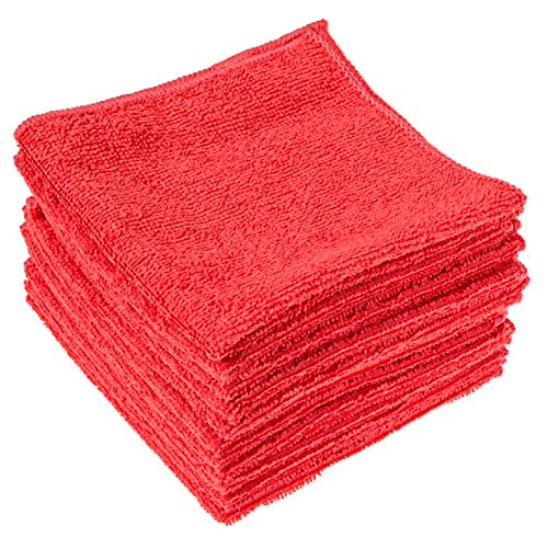 "Dry Rite Best Magic Microfiber Cloth Lite | Value Series Cleaning Towels for Home, Auto, Chrome, Kitchen, Bath, TV, Glass, Stainless Steel | No Scratch, Streak Free, Use Wet or Dry | 12"" x 12"""
