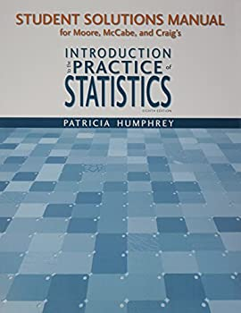 Student Study Guide with Solutions Manual for Introduction to the Practice of Statistics 1464133611 Book Cover
