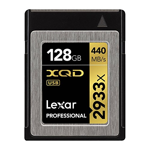 Lexar Professional 2933x 128GB XQD 2.0 Card (Up to 440MB/s Read) w/Free Image Rescue...