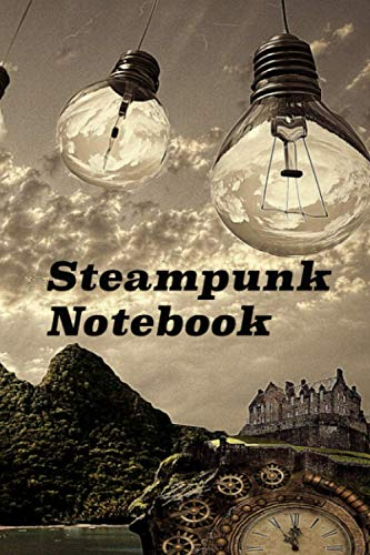 Steampunk Notebook: Vintages design journal to plan all your ideas